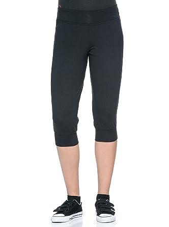 Reebok Pantalón de Chándal Yoga Capri Negro XS: Amazon.es: Ropa y ...