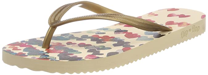 flip flop Damen Fliphearts Zehentrenner, Mehrfarbig (Sombrero), 36 EU