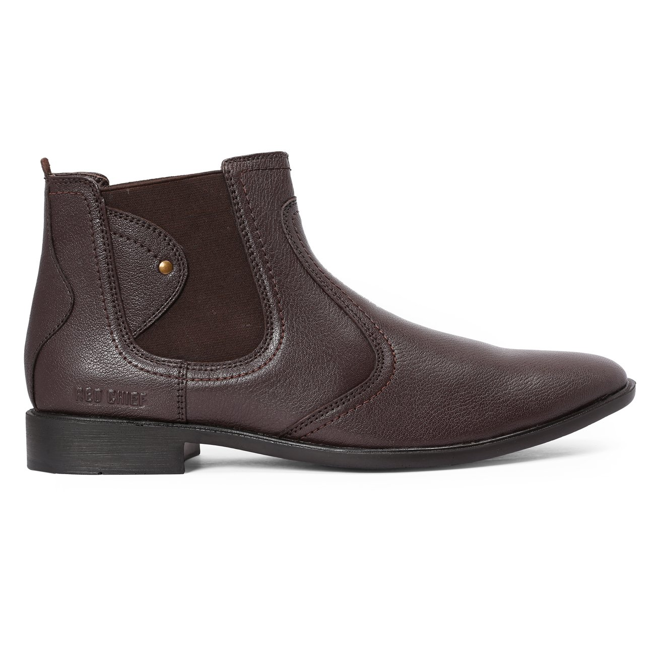 240f889fec65c Red Chief Men's Brown Leather Formal Shoes-11 UK/India (45 EU) (RC3498  003): Buy Online at Low Prices in India - Amazon.in