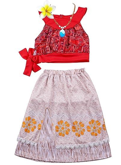 c95e6ffe548c5 Amazon.com: 4 Pcs Girls Princess Dress Up Costume Necklace Set ...