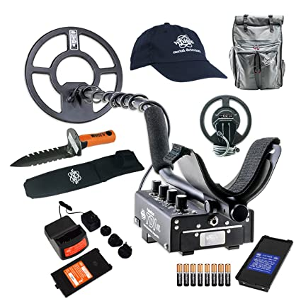 Amazon.com : Whites TDI SL PI Relic Metal Detector GEARED UP Bundle : Garden & Outdoor
