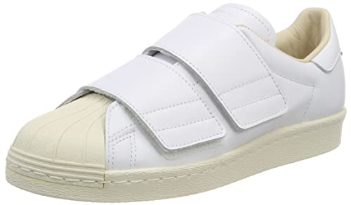 on sale 467e9 d4c32 adidas Superstar 80S CF W, Scarpe da Ginnastica Donna, Bianco Ftwr  White Linen S17, 44 EU  Amazon.it  Scarpe e borse