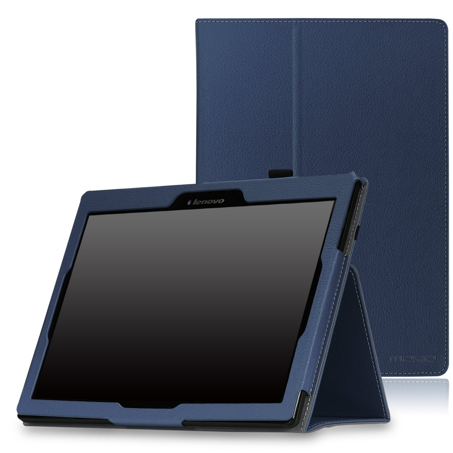 accessories lenovo tab x103f tab 10 tab 2 a10 case moko 3 fold stand smart cover case. Black Bedroom Furniture Sets. Home Design Ideas
