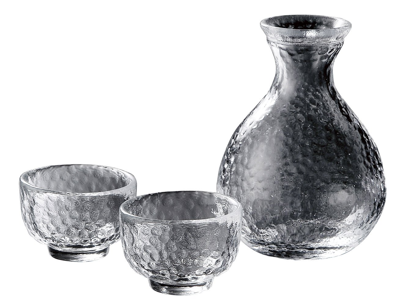 Yoshitani glass Kamakura Sake set KK-6139-29