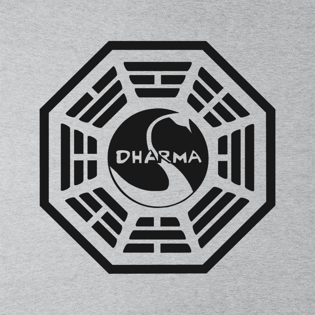 Cloud City 7 Dharma Initiative Logo Lost Womens Vest