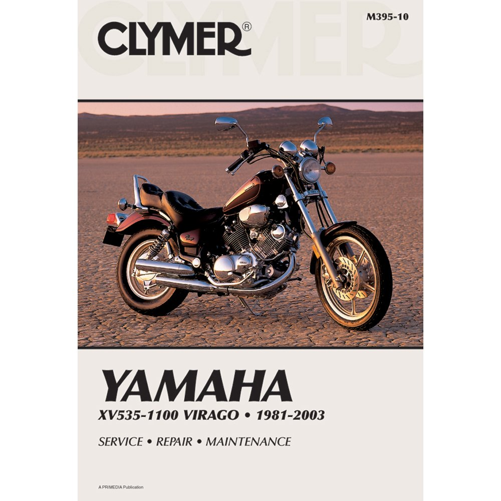 Clymer Repair Manual for Yamaha XV535/XV1100 XV-535 81-03