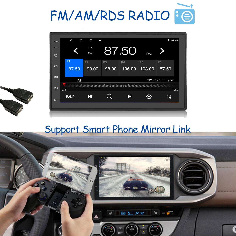 Panlelo S10 1 GB di RAM 16 GB ROM 2 Din 7 pollici Android 8.1//7.1 Navigazione GPS Autoradio FM//AM//RDS Music Video Player Mirror Link Quad Core
