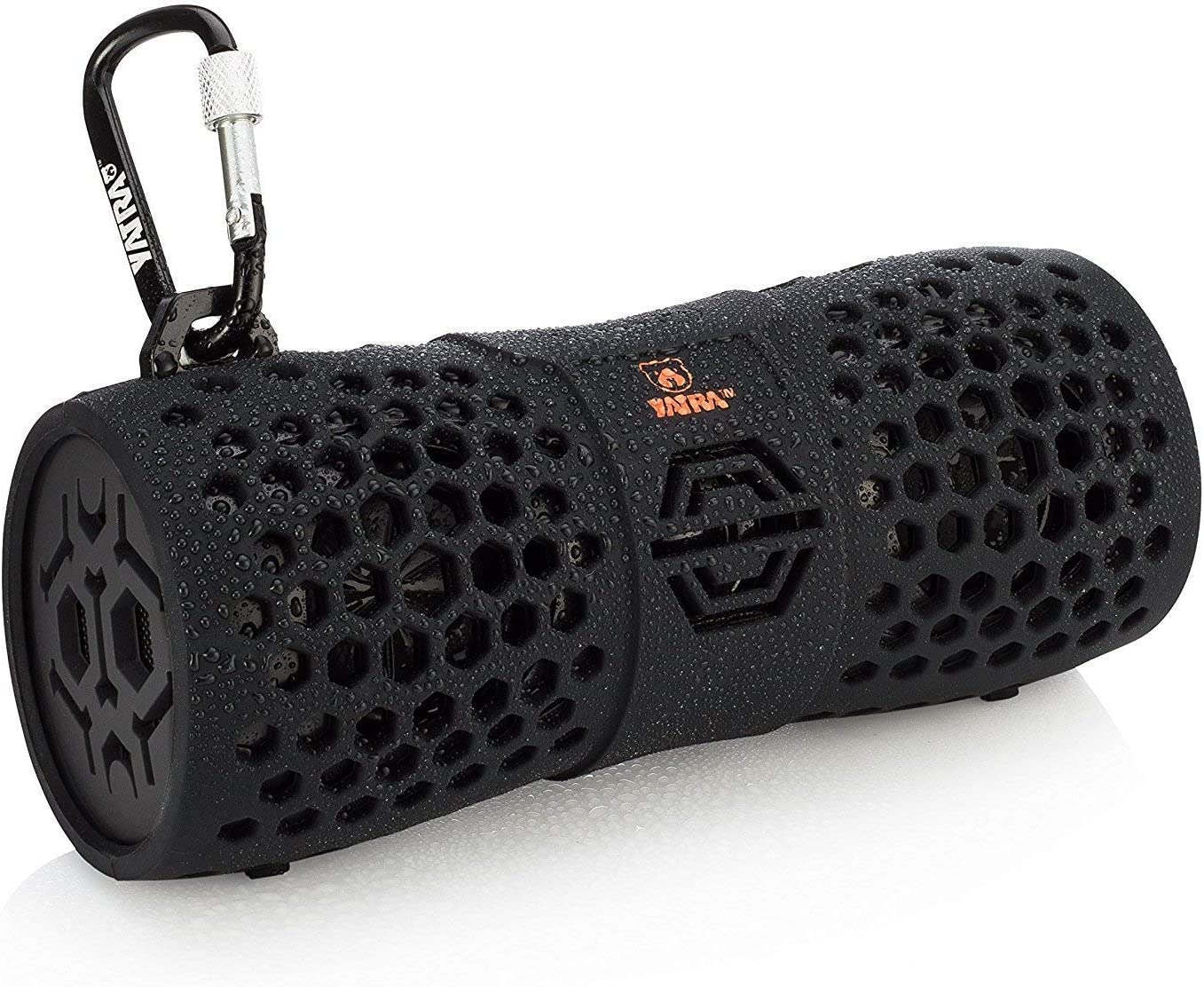 Yatra Aquatune 12610 - Portable Waterproof Rugged Wireless Bluetooth Speaker Compatible with iPhone, iPad, Samsung, Android, Tablet, or Smartphone (Black)