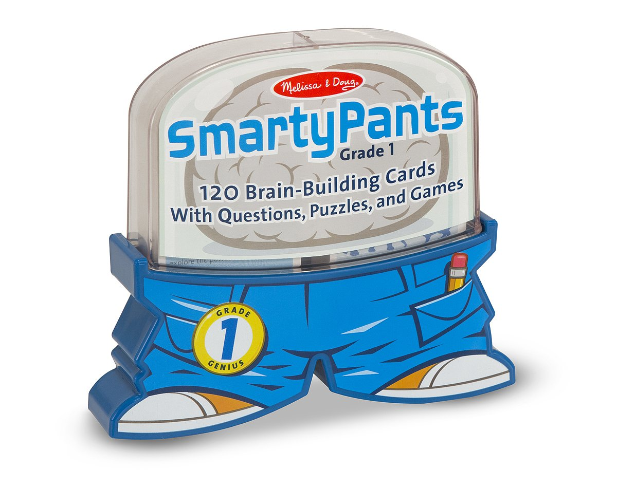 a picture of SmartyPants brain building cards set