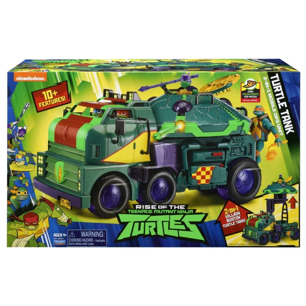 Giochi Preziosi- Tortugas Ninja Tanque de Juguete, Multicolor (TUAB6101)