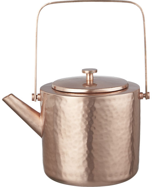 copper teapot | CB2