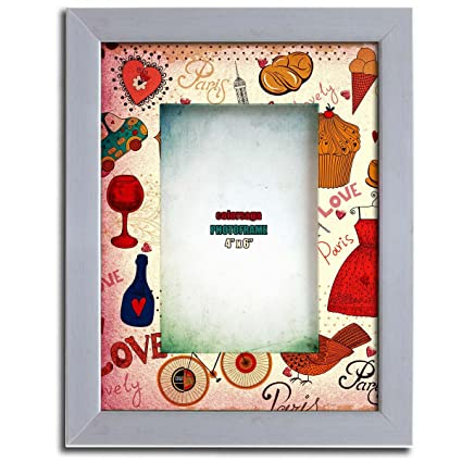 Buy Floating Love Coloured Frame, Glass and Fiber (7.75\