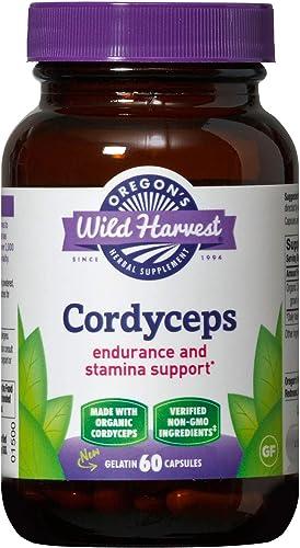 Oregon's Wild Harvest Cordyceps Freeze-Dried Organic