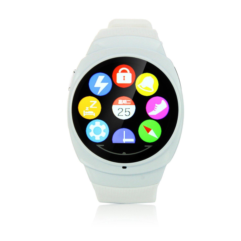 uwatch uo 1.44 pulgadas con pantalla táctil BT 4.0 Salud Reloj Inteligente Apoyo Ritmo Cardíaco Monitor podómetro para Monitor Sleep Remote imágenes, ...