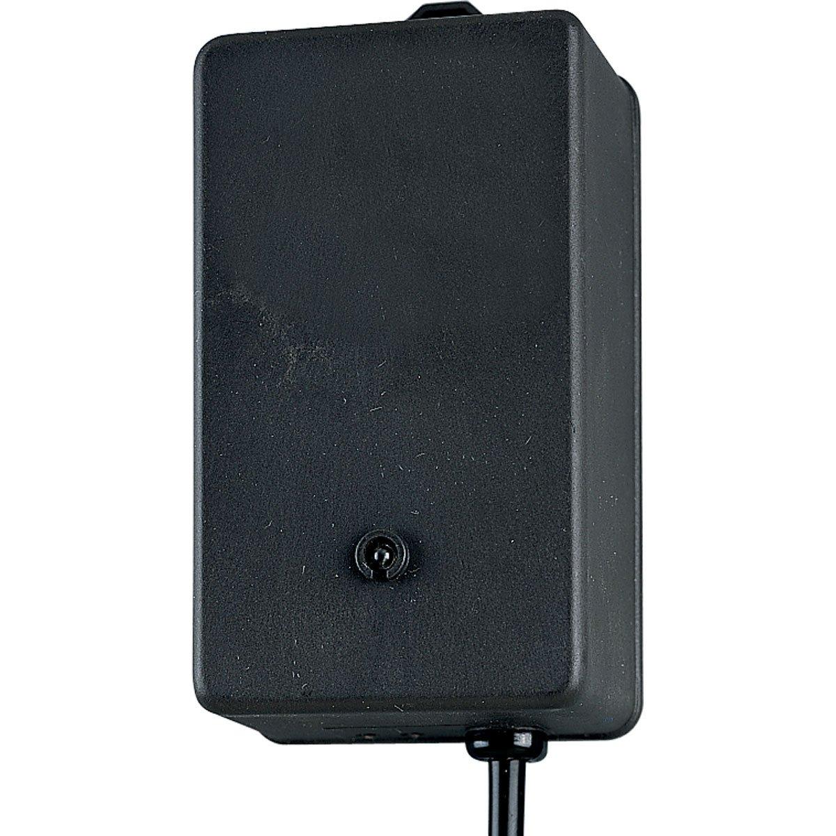Progress Lighting P8517-31 100-Watt Electronic Transformer with Integral Photo-Cell, Black