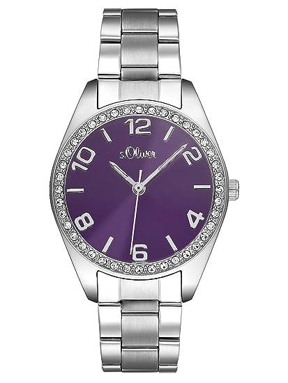 Oliver - Reloj analógico de mujer de cuarzo con correa de