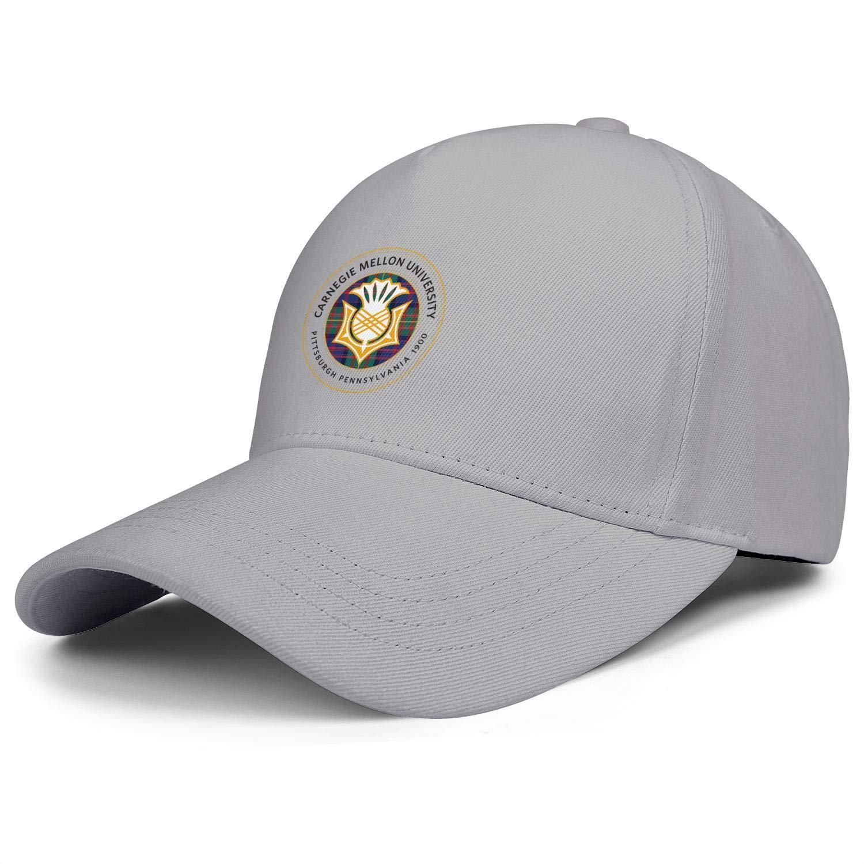 ZHENGJC Womens Baseball Cap Carnegie-Mellon-University-Emblem-Basic Adjustable Hiking Cap