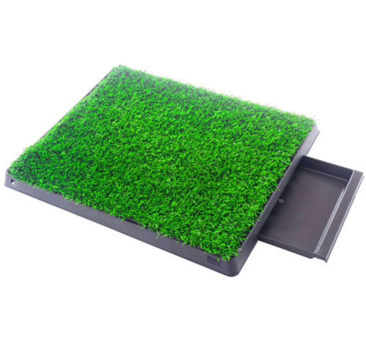 Pet Potty Grass Pads Training Indoor Replacement Outdoor Park Toilet Deluxe