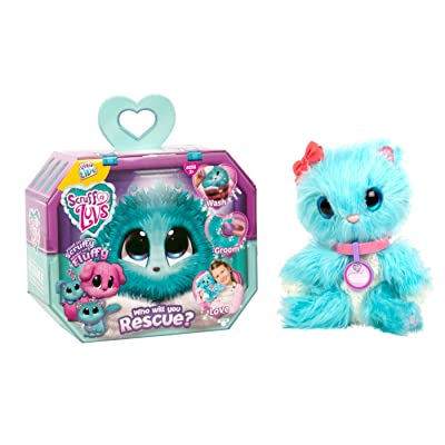 Little Live Scruff-A-Luvs Plush Mystery Rescue Pet - Blue: Toys & Games