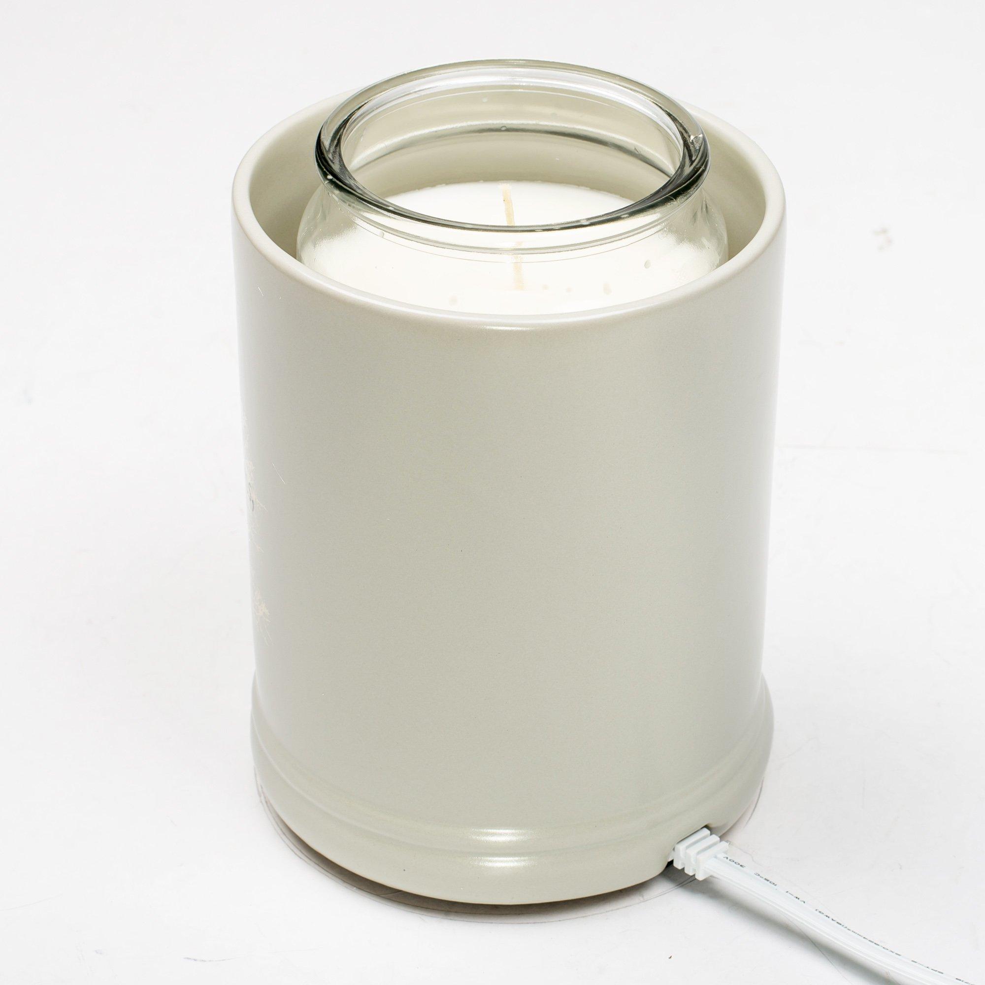 Elanze Designs Family Tree Ceramic Stoneware Electric Large Jar Candle Warmer by Elanze Designs (Image #4)