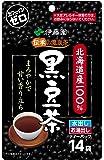 伊藤園 伝承の健康茶 北海道産100%黒豆茶 ティーバッグ 14袋