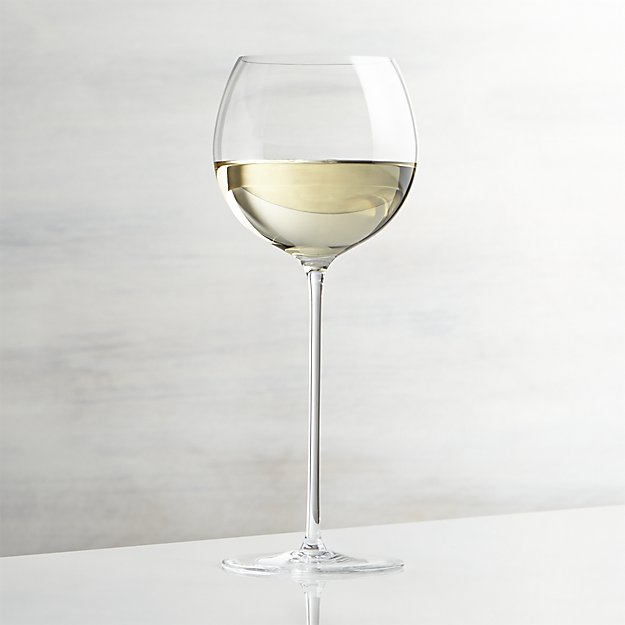 Camille 13 oz. White Wine Glass | Crate and Barrel