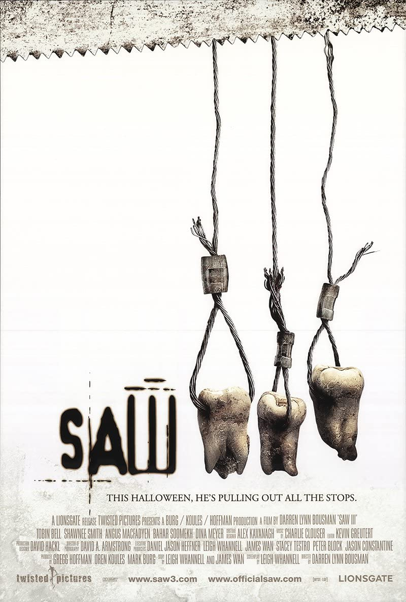 ART PRINT POSTER Saw II Movie Sheet