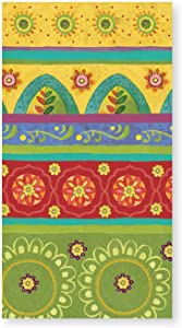 X&O Paper Goods Tunisian Sunset Table Napkins and Guest Towels 16pc, 4.75'' W x 8'' L