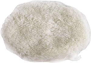 "Makita 199424-6 6"" Round Hook & Loop Wool Polishing Pad"