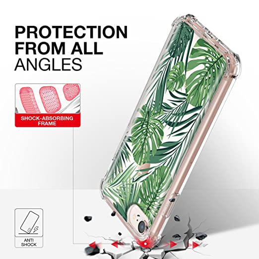 Amazon.com: iPhone 6 6S 7 8 funda, titishark anti gravedad ...