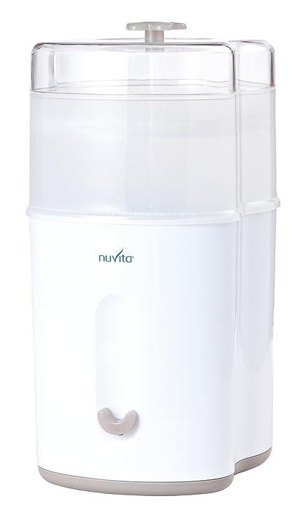 Nuvita 1082 – Esterilizador a vapor compacto – Esterilizador eléctrico de biberón – Caben hasta 5 biberones, tetinas y accesorios – ...