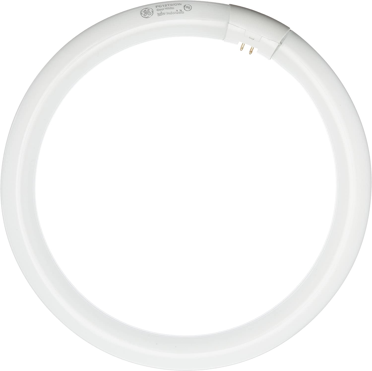 GE Lighting 33890 Cool White 12-Inch Diameter Circline Fluorescent Bulb, 32-Watt