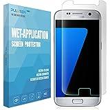 Galaxy S7 Schutzfolie, PULESEN® Samsung Galaxy S7 Folie[Anti-Bläschen] [Anti-Lifting] [Vollständige Abdeckung] Displayschutz Screen protector für Galaxy S7 Displayschutzfolie