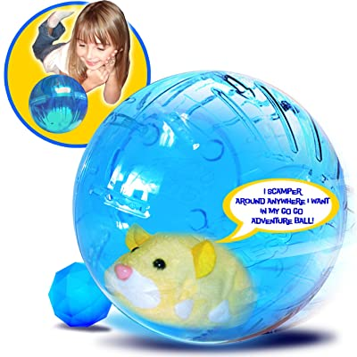 Zhu Zhu Pets Adventure Ball: Toys & Games