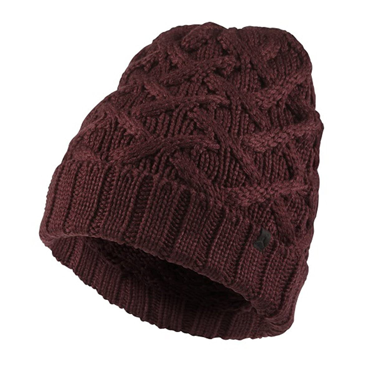 newest collection 061e1 02254 Nike Air Jordan Jumpman Adult Unisex Cable Knit Ski Winter Beanie Cap Night  Maroon Black Applique at Amazon Men s Clothing store