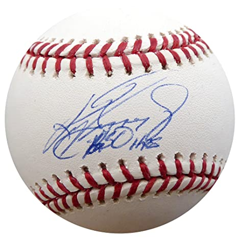 d10a8ad310 Image Unavailable. Image not available for. Color: Ken Griffey Jr.  Autographed ...