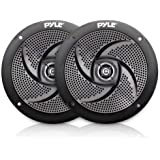 Pyle Marine Speakers - 6.5 Inch 2 Way Waterproof and Weather Resistant Outdoor Audio Stereo Sound System with 240 Watt Power
