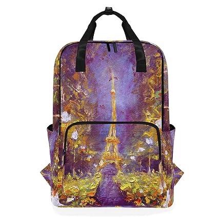 Hunihuni France Paris Eiffel Tower - Bolso de Viaje para la ...