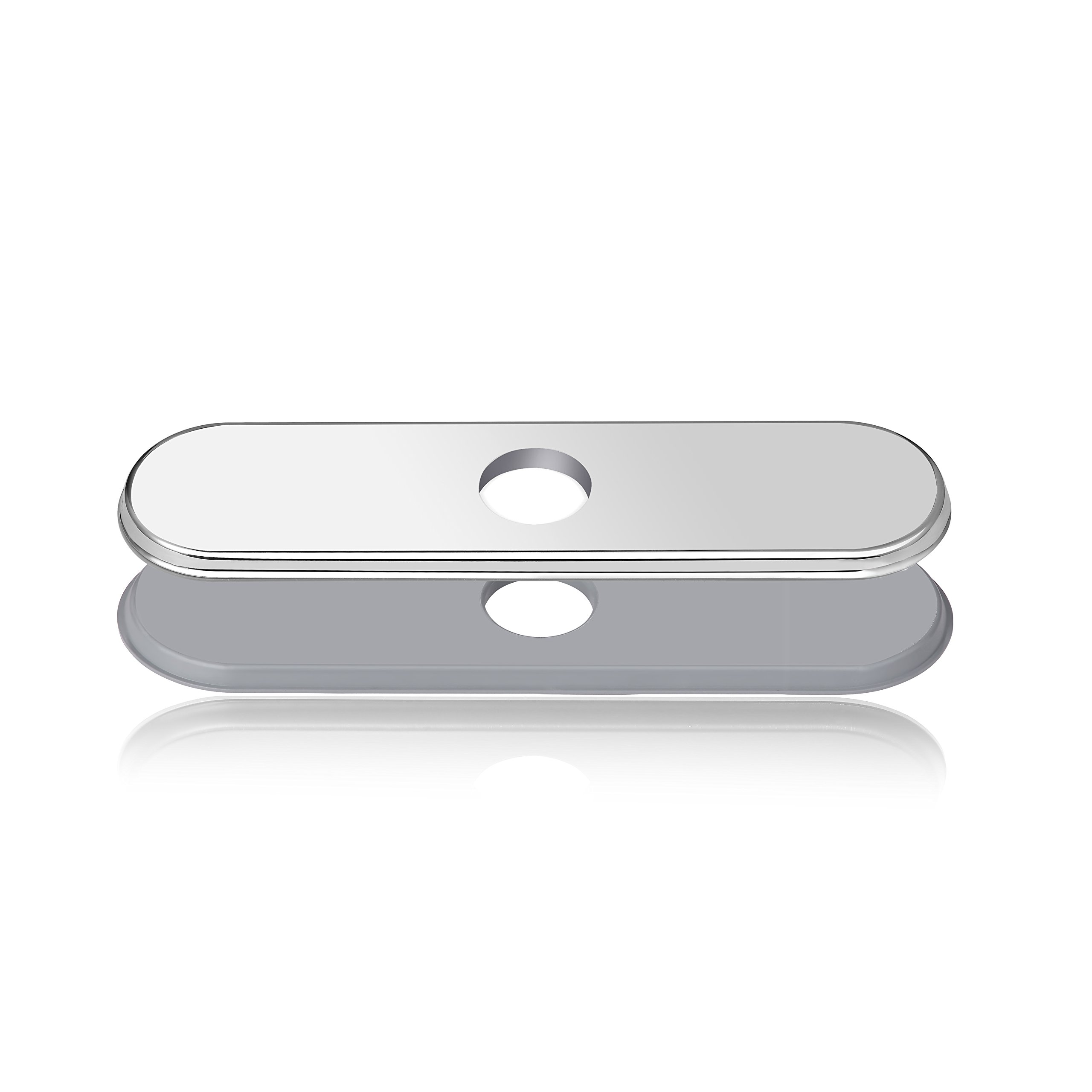 LOUYC Sink Faucet Escutcheon for Bathroom Kitchen Faucet Hole Cover Deck Plate 10 Inches
