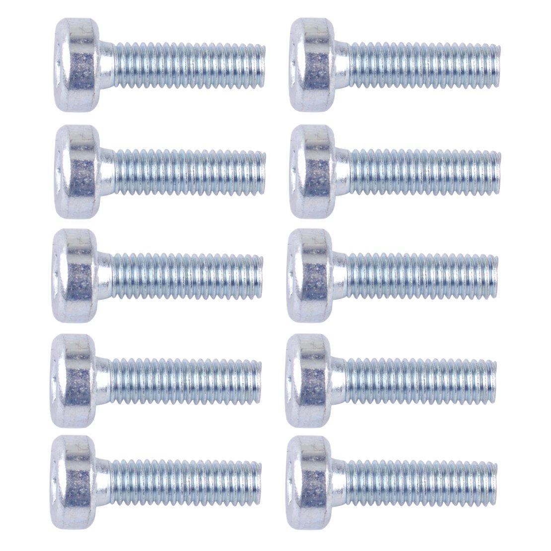 LETAOSK Torx Spline Schraubenbolzen T27 5mmx18mm M5X18 Kompatibel mit STIHL Kettens/ägen 10er Pack