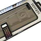 エアージェイ【 iPhone6Plus 5.5インチ 専用】フェラーリ公式ライセンスの本革ハードケース[458 Leather Hard Case for iPhone6 Plus] FE458HCP6L (グレー)