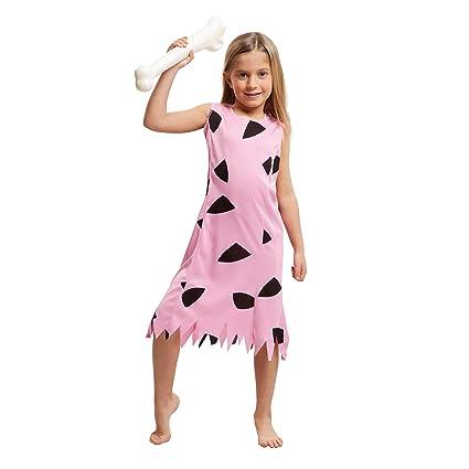 My Other Me Me-203517 Disfraz de troglodita para niña, Color rosa ...
