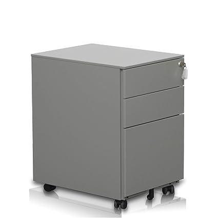 New Cajonera Oficina archivador Gris Serie, pensada para mesas de escritorios en oficinas, Buck