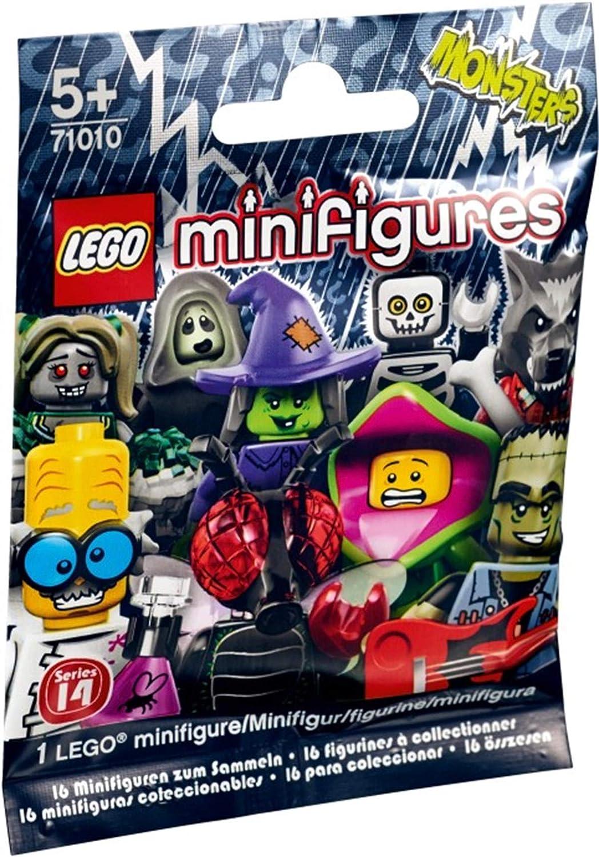 LEGO Series 14 Wolf Guy Minifigure 71010 Collectible Werewolf Halloween Bad