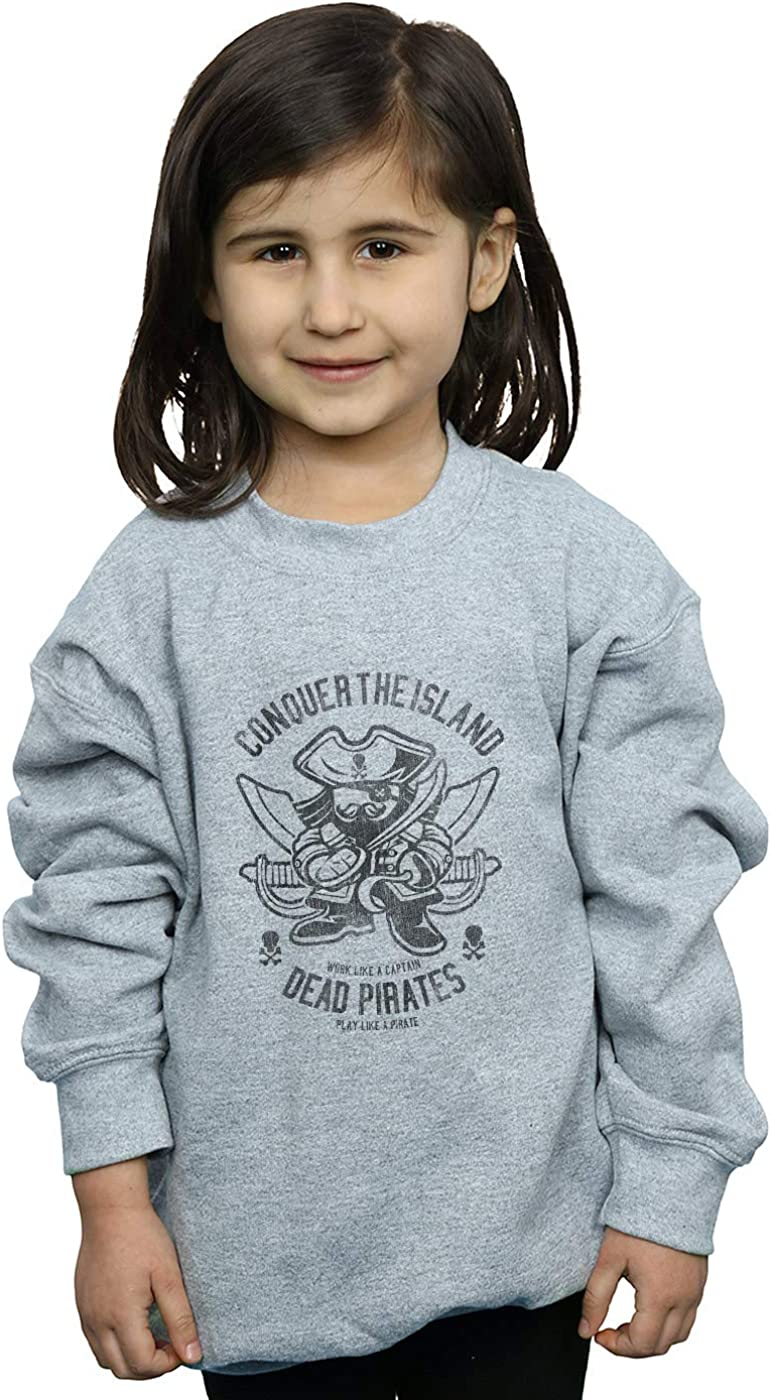 ABSOLUTECULT Drewbacca Girls Dead Pirate Sweatshirt