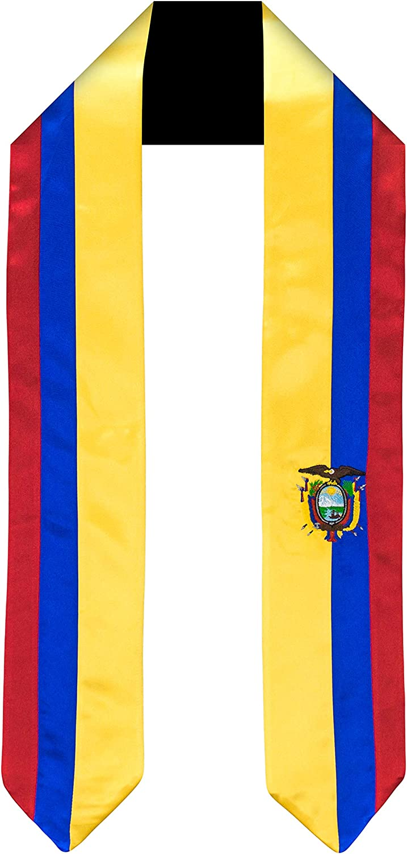Stole Graduation Sash DOMINICA  Flag