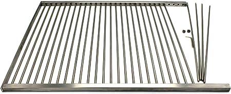 Grille de cuisson en acier inoxydable sur mesure
