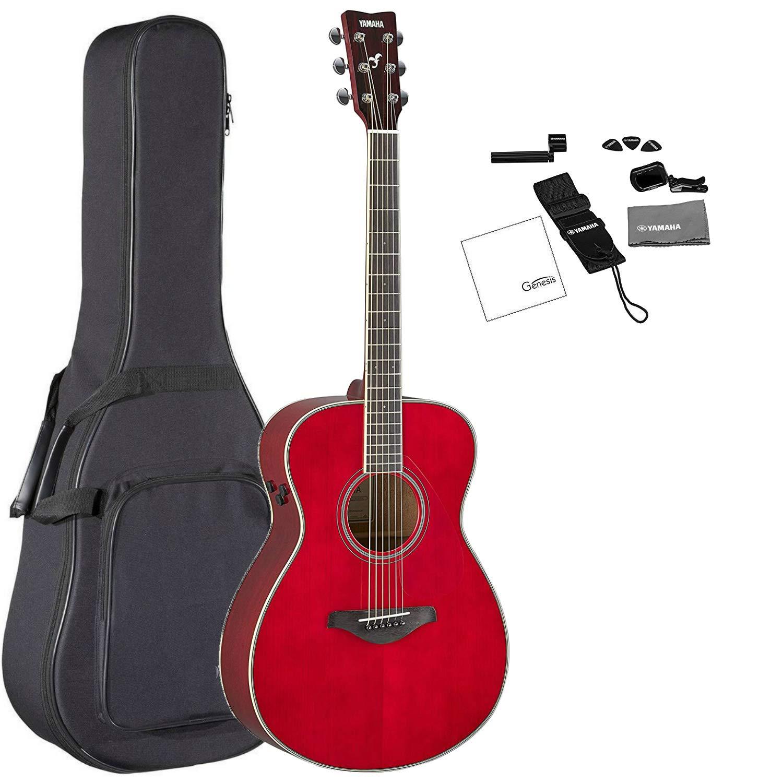 Yamaha FS-TA RR Guitarra acústica acústica eléctrica color rojo ...