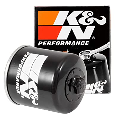 K&N Motorcycle Oil Filter: High Performance, Premium, Designed to be used with Synthetic or Conventional Oils: Fits Select Ducati Motorcycles, KN-153: Automotive