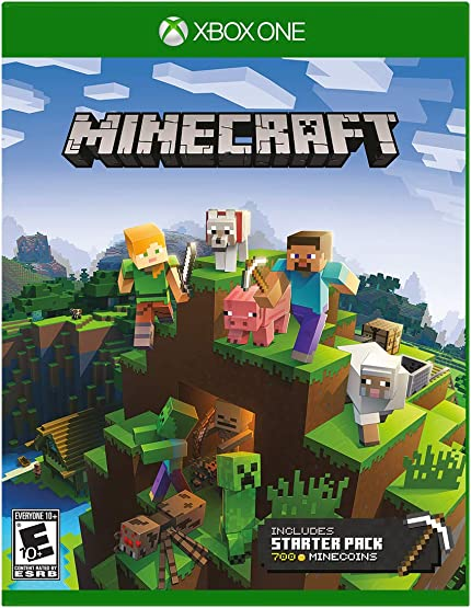 Minecraft Starter Collection - Xbox One: Microsoft     - Amazon com